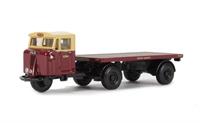 "Oxford Diecast 76MH016 Mechanical Horse Flatbed Trailer ""British Rail"""