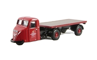 "Oxford Diecast 76RAB007 Scammell Scarab Flatbed Trailer ""Post Office Supplies Dept."""