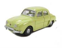 Oxford Diecast 76RD002 Renault Dauphine yellow