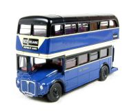 "Oxford Diecast 76RM103 Routemaster bus in ""Delaine"" livery."