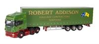 "Oxford Diecast 76SCA09CS Scania R Series ""Robert Addison"" - Ltd edition of 2000"