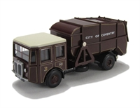 Oxford Diecast 76SD004 Coventry Shelvoke & Drewry Dustcart.