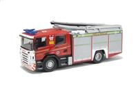 "Oxford Diecast 76SFE001 Scania Fire Engine ""Cleveland Fire & Rescue"""
