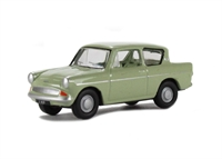 Oxford Diecast 76SP046 Anglia 105E Saloon Lime Green Liverpool
