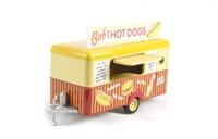 "Oxford Diecast 76TR001 Mobile Trailer ""Bob's Hot Dogs"""