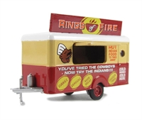 Oxford Diecast 76TR008 Mobile Trailer Rings of Fire.