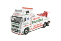 "Oxford Diecast 76VOL02REC Volvo FH ""Sovereign Recovery"" Ltd edition of 2000"