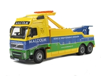 "Oxford Diecast 76VOL04REC Volvo FH Boniface Recovery Vehicle ""WH Malcolm"""