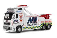 "Oxford Diecast 76VOL05REC Volvo Recovery Truck ""M8 recovery"""