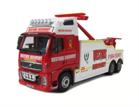 """Oxford Diecast 76VOL06REC Volvo FH Recovery Truck """"Westons"""""""