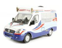 Oxford Diecast 76WM002 Mercedes Ice Cream Dimachios Whitby Mondial