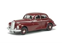 Oxford Diecast 76WOL002 Wolseley 6/80 in maroon