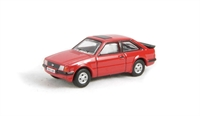 Oxford Diecast 76XR004 Ford Escort XR3i in Rosso red