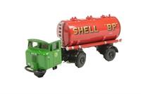 """Oxford Diecast 76MH012 Mechanical Horse Tank Trailer """"Shell-Mex & BP Ltd"""""""