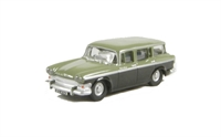 Oxford Diecast 76SS006 Humber Super Snipe in Smoke Green/Sage Green