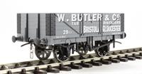 "Dapol 7F-051-003 5-plank wagon ""Butler, Bristol"""
