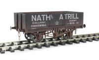 "Dapol 7F-051-018W ""Nathl Atrill"" 5 Plank Open Wagon - Weathered"