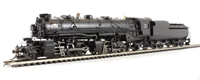 Bachmann USA 82621 H-4 2-6-6-2 Articulated Locomotive W/Vandy Vc12 Tender Painted, Unlettered (Black)