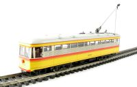 """Bachmann USA 84604 American Peter Witt street car with full interior & lights in """"Baltimore Transit Co."""" livery (DCC on board)"""