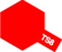 Tamiya 85008 TS-8 Italien Red