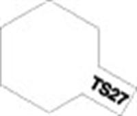 Tamiya 85027 TS-27 Matt White