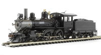 Bachmann USA 85101 Richmond 4-4-0 american. Painted, Unlettered with wood cab