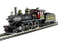 Bachmann USA 85103 American Richmond modern 4-4-0 locomotive in Southern (black) livery with DCC Sound