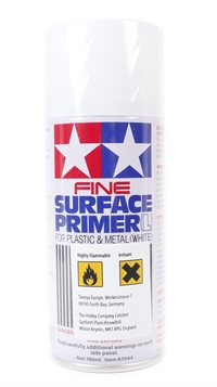 Tamiya 87044 Fine Surface Primer White Lge 180ml