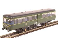 Heljan 8750 Park Royal Railbus SC79970 in BR green with speed whiskers