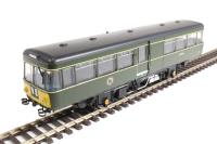 Heljan 8753 Park Royal Railbus M79972 in BR green with small yellow panels