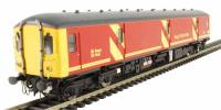 Heljan 8941 Class 128 DPU in Royal Mail red with full yellow ends and flush fronts