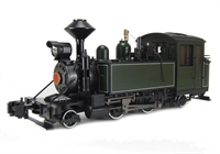 Bachmann USA 91199 Baldwin 2-4-2 Steam locomotive - Unlettered, green & black with white pinstripes