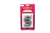 Bachmann USA 92421 Card with 4 pairs of 31mm large metal wheel sets