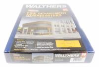 Walthers 933-3765 Fire Department Headquarters Kit OO/HO Scale