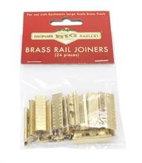 Bachmann USA 94657 Brass Rail Joiners x 24
