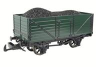 Bachmann - Thomas the Tank 98003 Coal wagon with load in green (Thomas the Tank range)