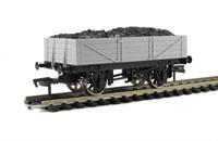 Dapol A005 Unpainted 4 plank wagon