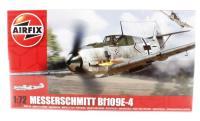 Airfix A01008 Messerschmitt Bf109E with Luftwaffe marking transfers