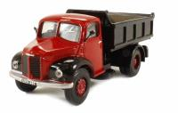 Base Toys A011A Dodge 'Parrot Nose' Tipper in red/black (circa 1955-1965)