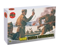 Airfix A01732 WWII British Commandos  in various poses (48)