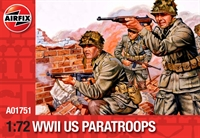 Airfix A01751 WWII US Paratroops in various poses (48)