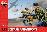 Airfix A01753 WWII German Paratroops  in various poses (48)
