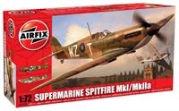 Airfix A02010 Spitfire MkI/MkIIa with RAF marking transfers