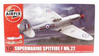 Airfix A02033 Supermarine Spitfire F22 with RAF marking transfers