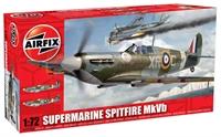 Airfix A02046A Supermarine Spitfire MkVb with RAF marking transfers