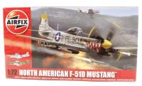 Airfix A02047 North American F-51 Mustang With USAAF and Dominican Republic AF marking transfers