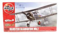 Airfix A02052 Gloster Gladiator Mk1 fighter - New Tool for 2013