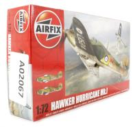 Airfix A02067 Hawker Hurricane Mk1 early (2 blade prop) fighter  - New Tool for 2013
