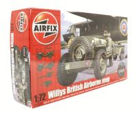 Airfix A02339 Willys Jeep, Trailer & 6pdr Gun