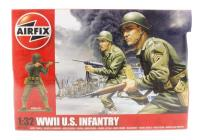 Airfix A02703 WWII US Infantry in assorted poses (14)